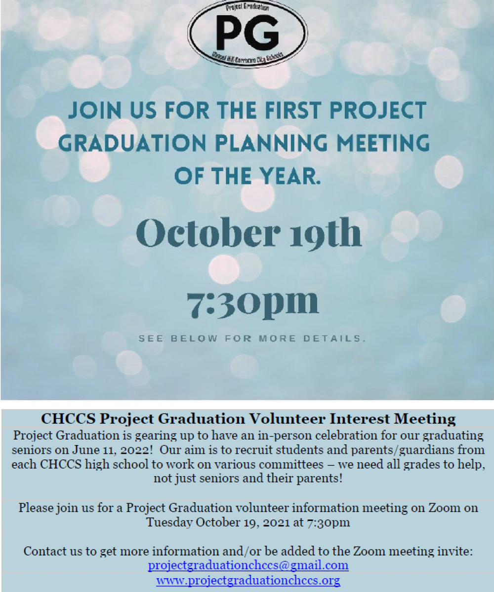 Project Graduation First Meeting
